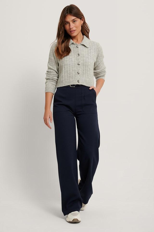 Carmen Pocket Trousers Navy