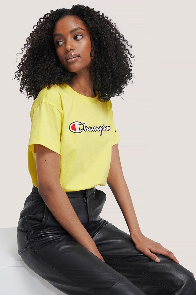 Crewneck T-Shirt Lime Light