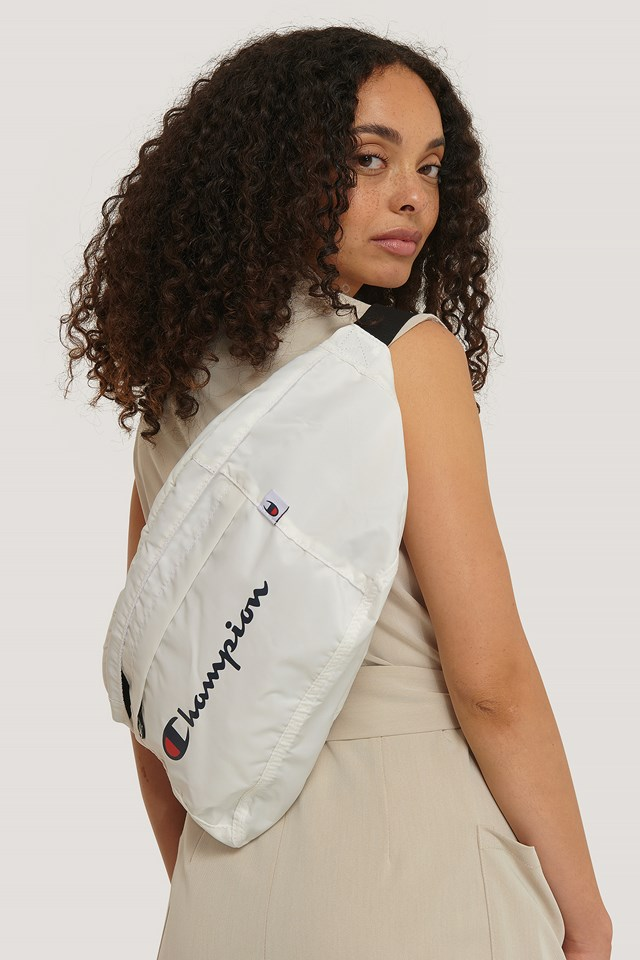 Shoulder Belt Bag White