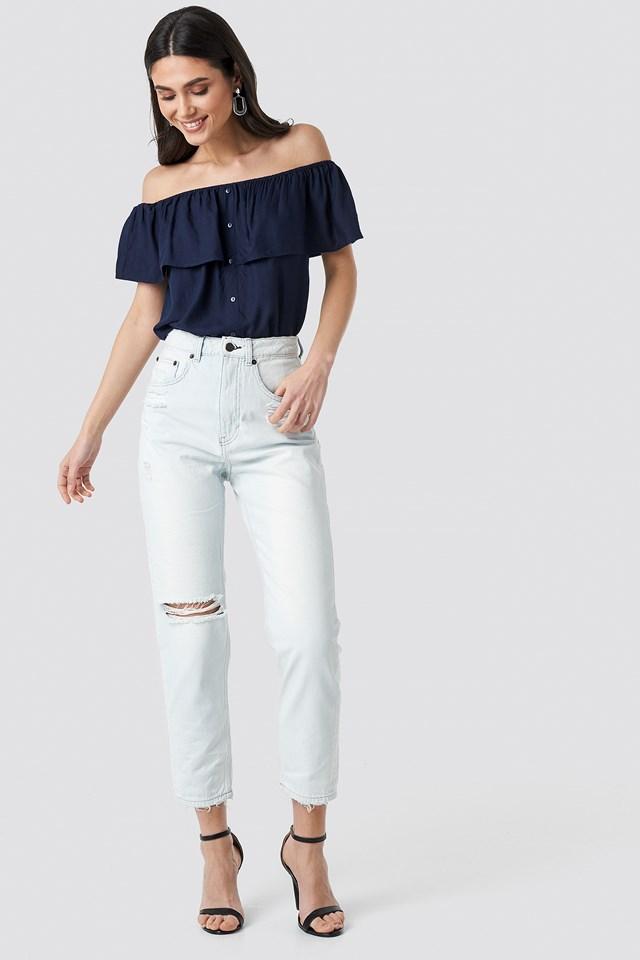 Donna Off Blue Jeans Off Blue