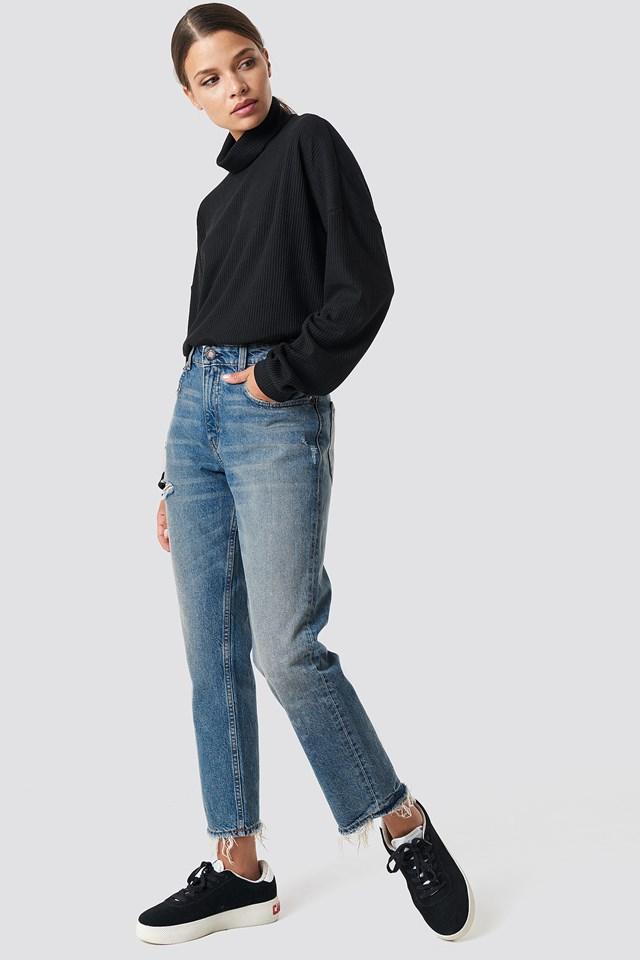 Revive Decay Jeans Blue