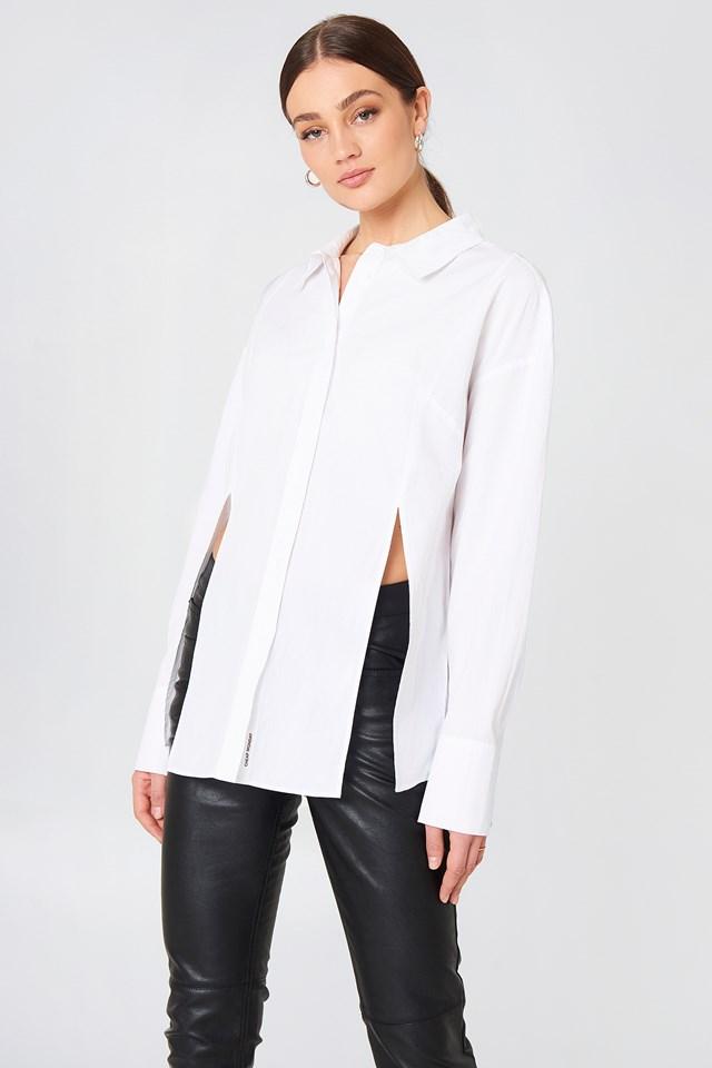 Seize Poplin Shirt White