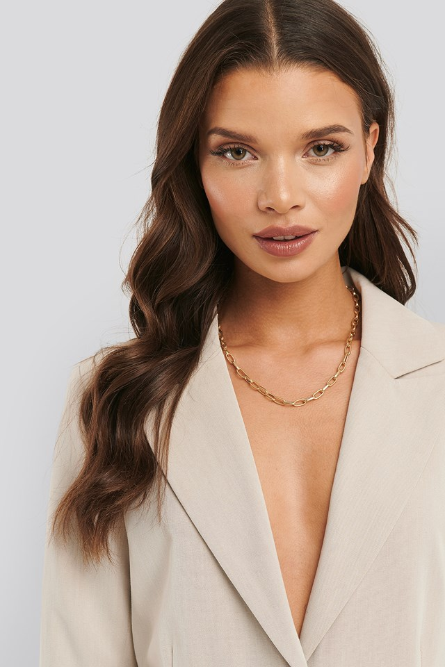 Christina Dueholm Chain Necklace Gold