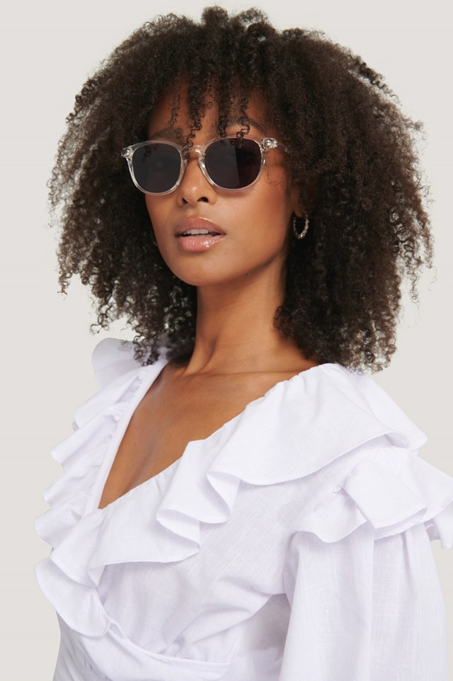 Como Sunglasses Transparent