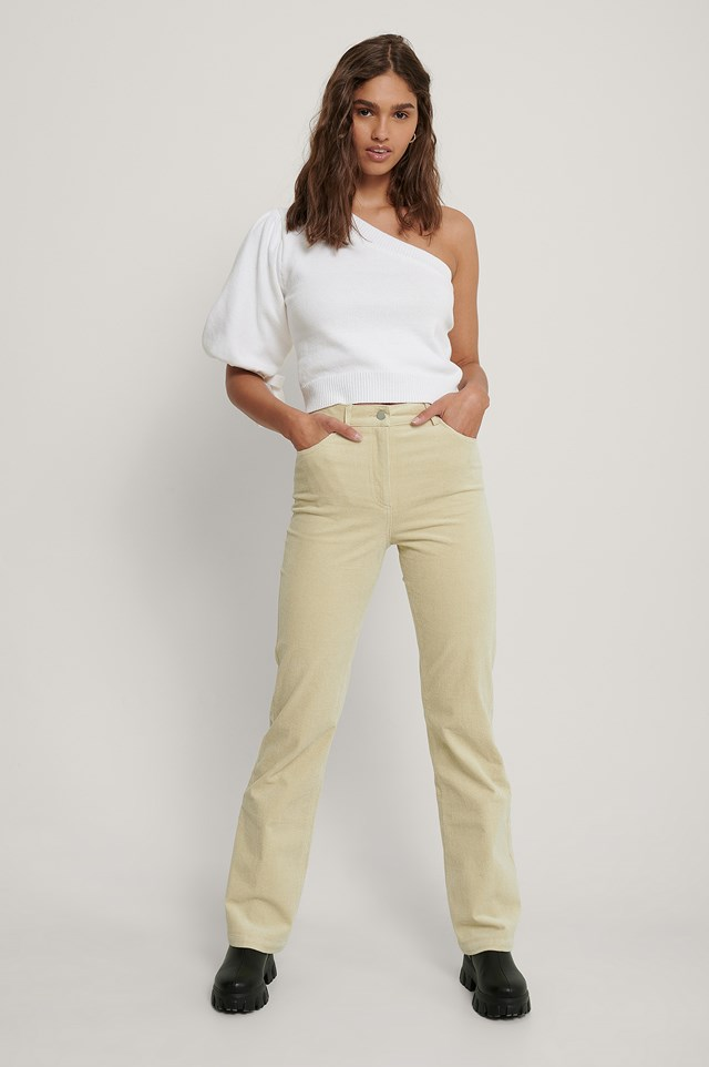 Cord Trousers Sand