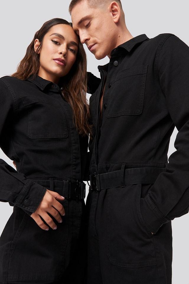 Boiler Suit Black