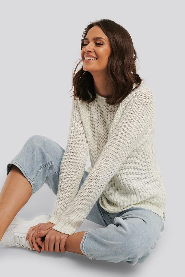 Carmen Sweater Ecru