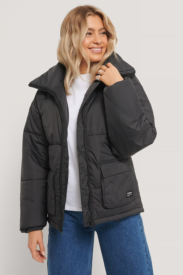 Whitney Puffer Jacket Graphite
