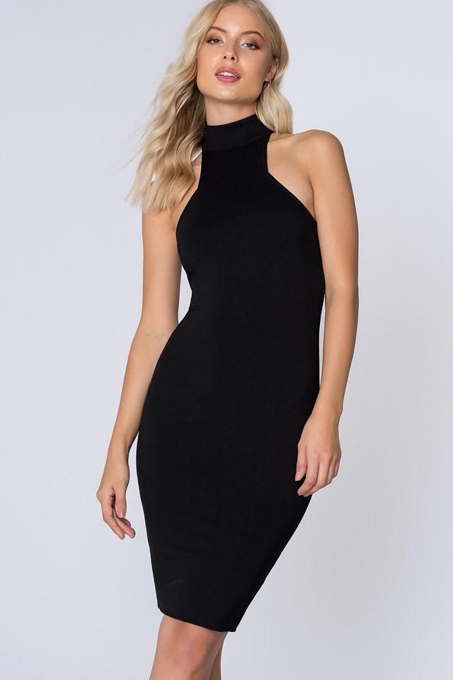 Leo Dress Black