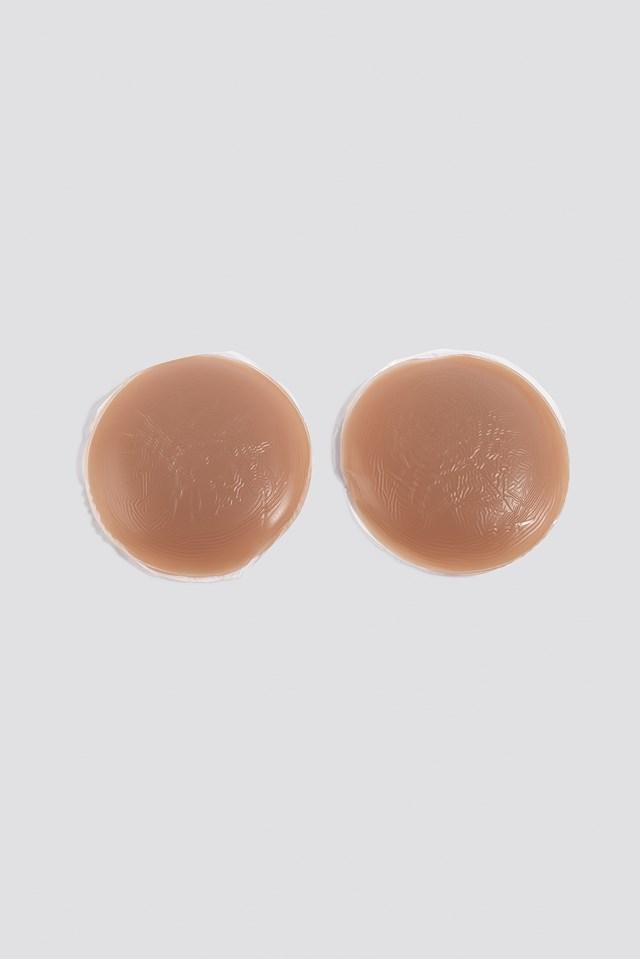 Silicone Nipple Covers Tan