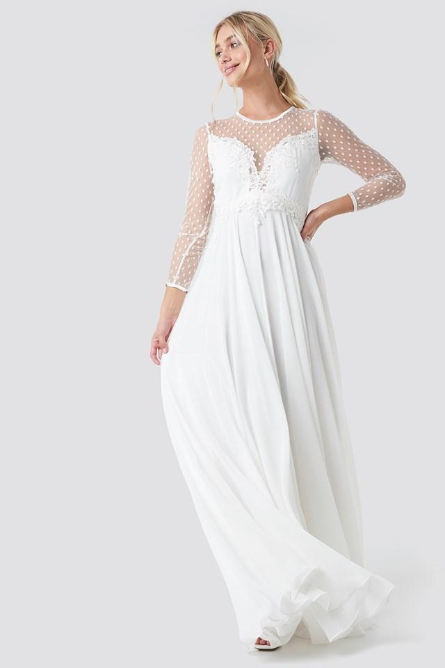 Alicia Dress Ivory