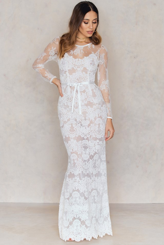 Eleonore Dress Ivory