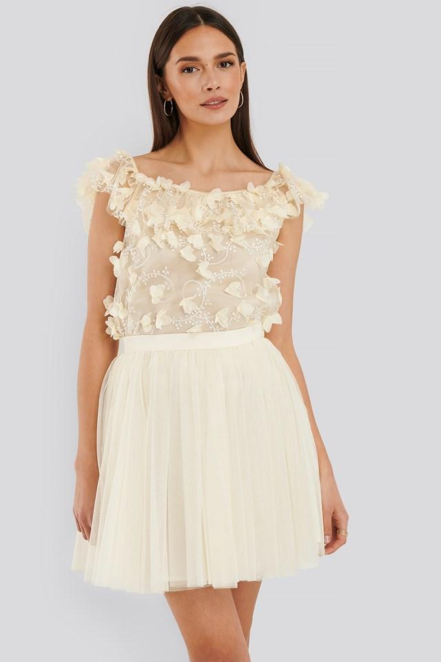 Jolie Skirt Cream