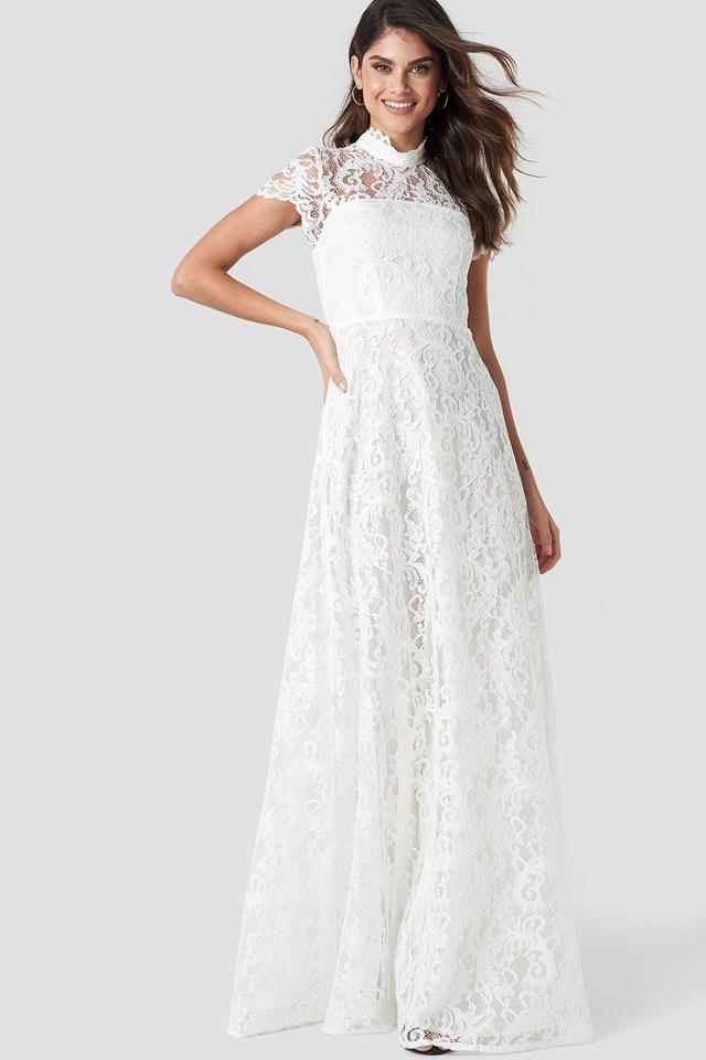 Siren Maxi Dress Ivory