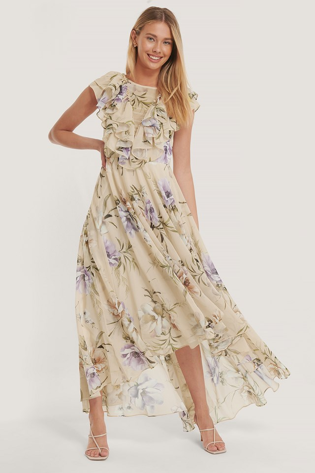 Venetia Dress Flower Print