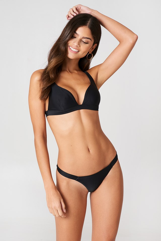 Thin Side Bikini Panty Black