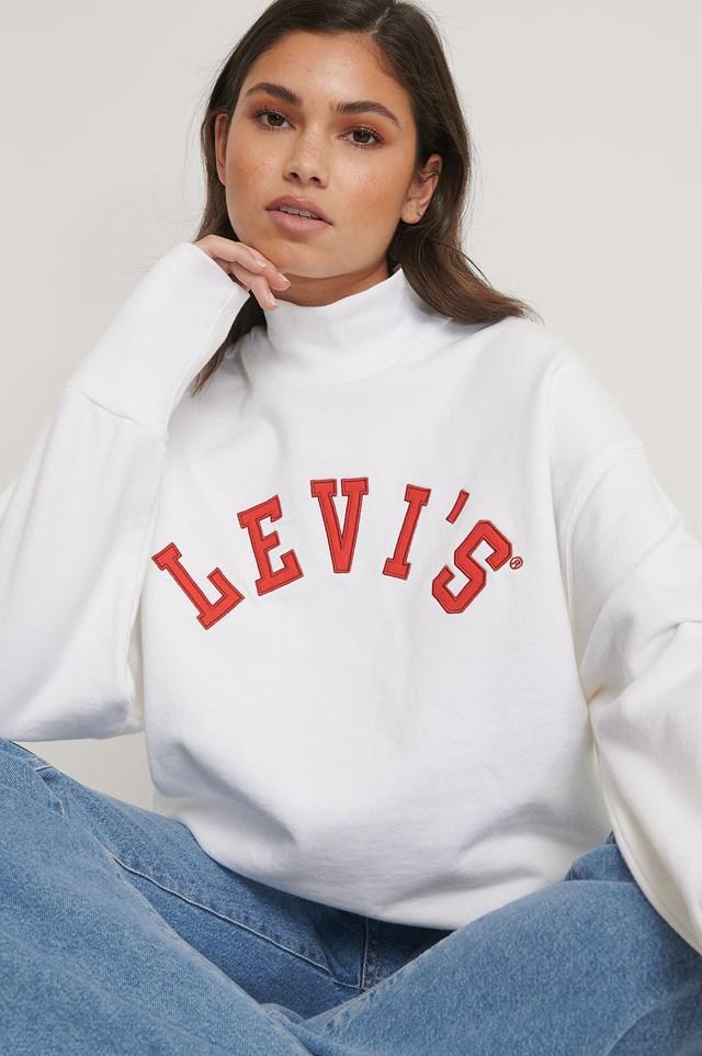 Gardenia Sweater White