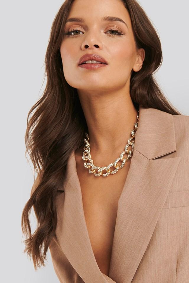 Lisa Anckarman Chunky Chain Necklace Gold