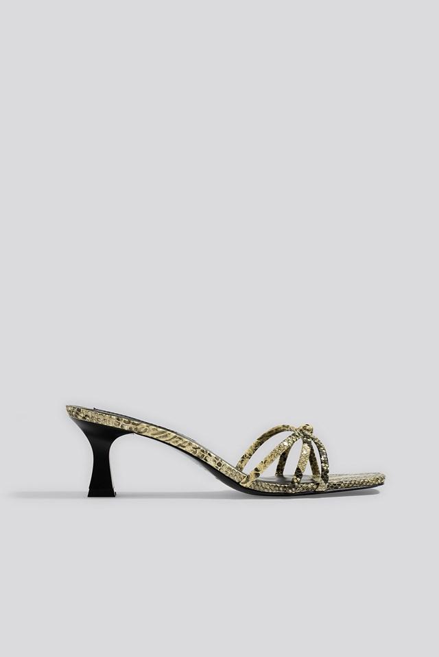 Alicia Sandals Snake