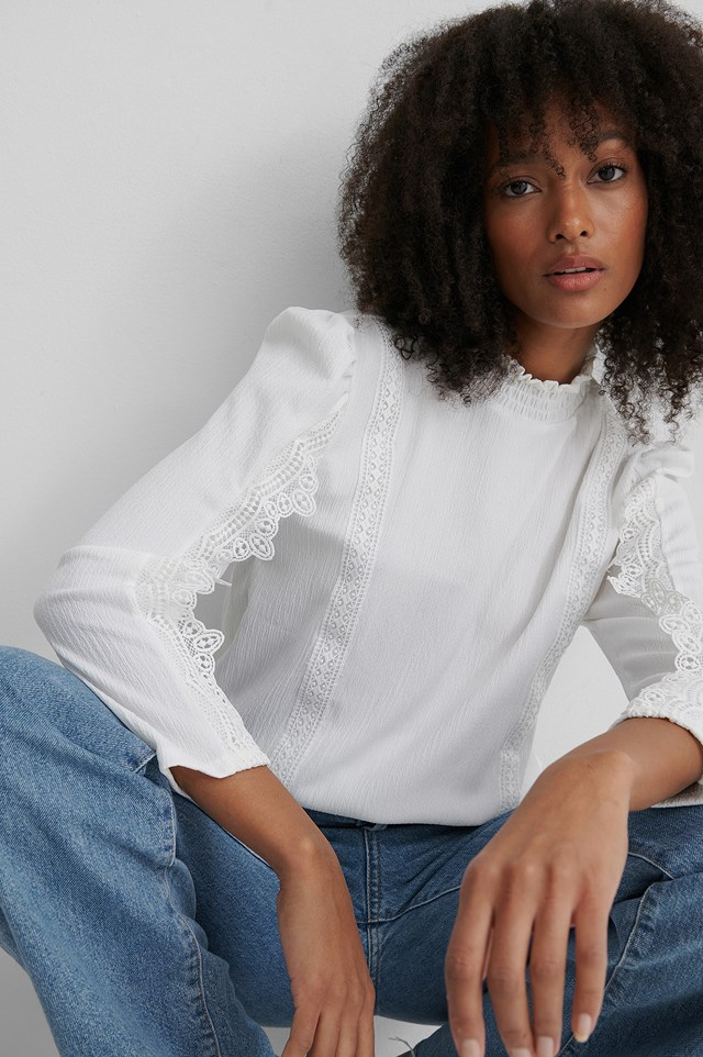 Annette Top Offwhite