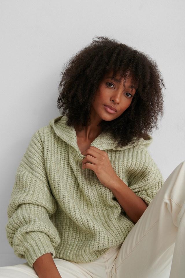 Capuchino Sweater Pastel Green
