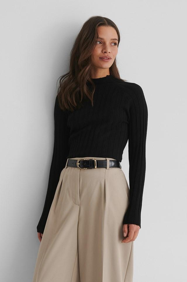 Flurry Sweater Black