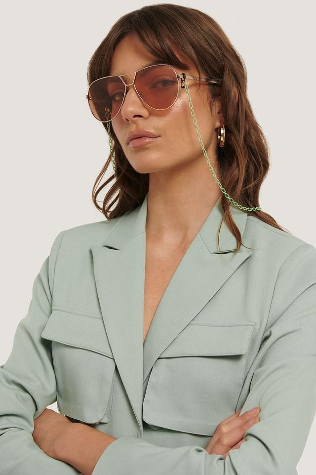 Gerolt Sunglasses Chain Green