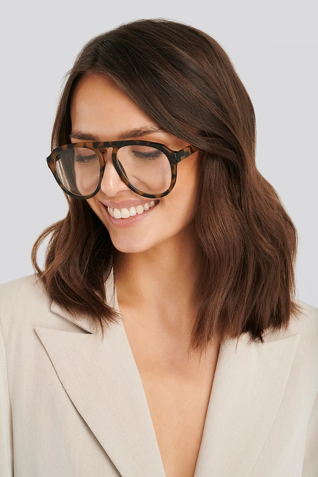 Greta2 Sunglasses Dark Brown