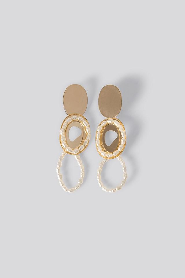 Irina Earrings Gold