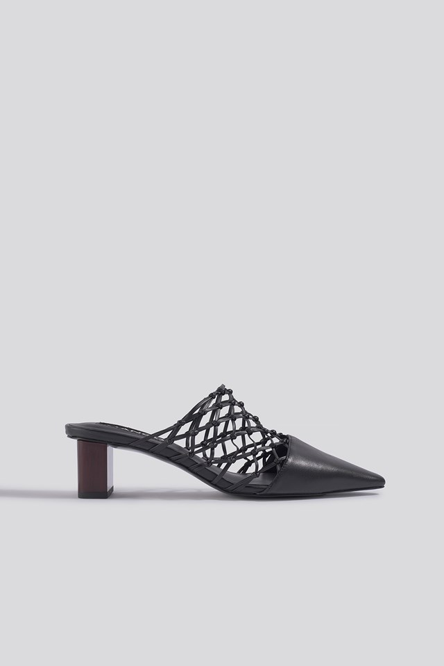 Knoty Shoes Black