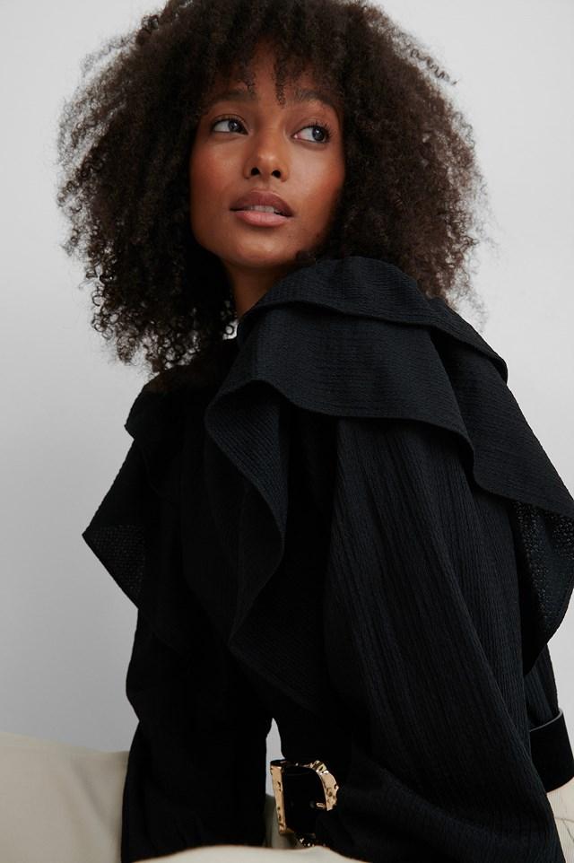 Latre Blouse Black