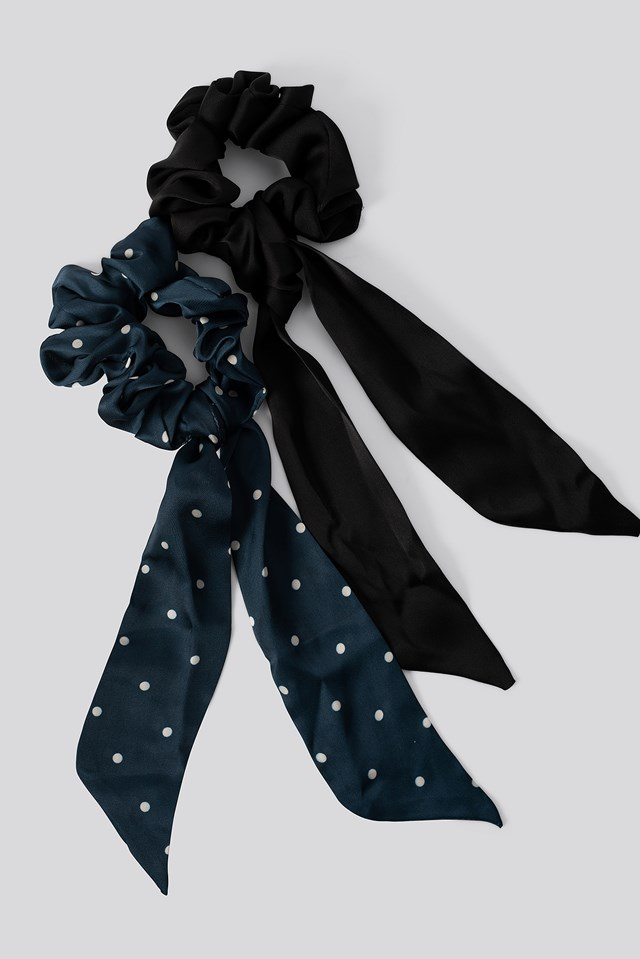 Lolita Scrunchie Navy Blue