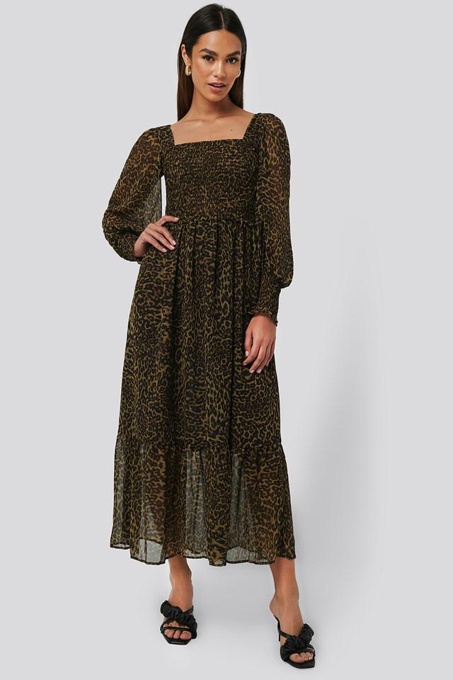 Lyon Dress Brown