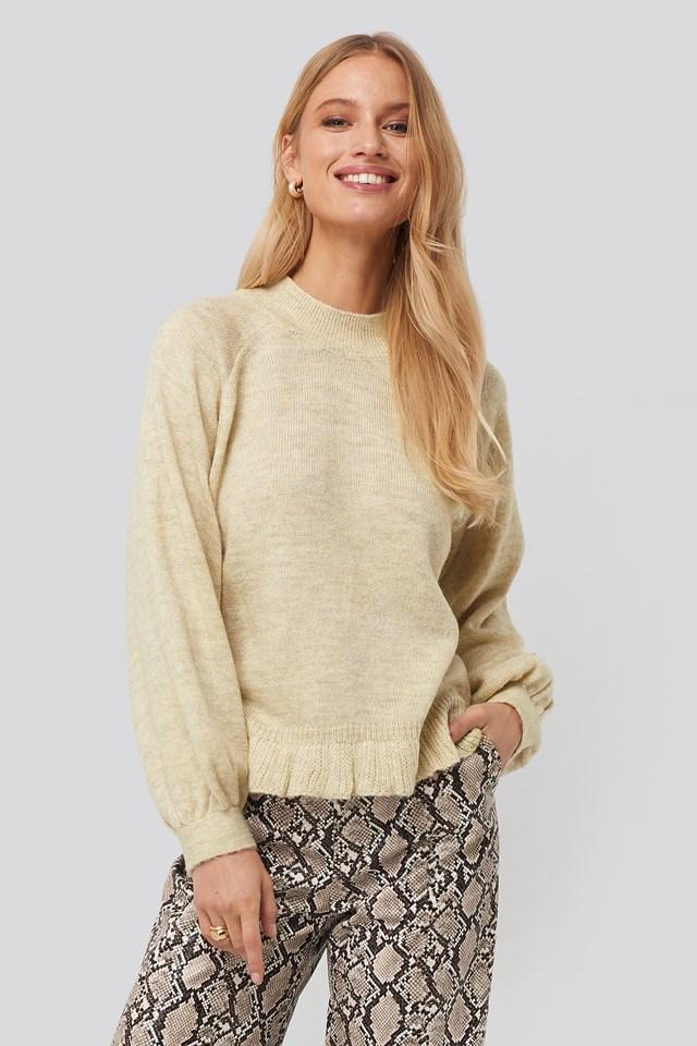 Light Gray Mercucio Sweater