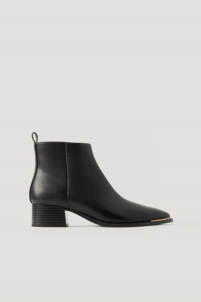 Minute Ankle Boots Black