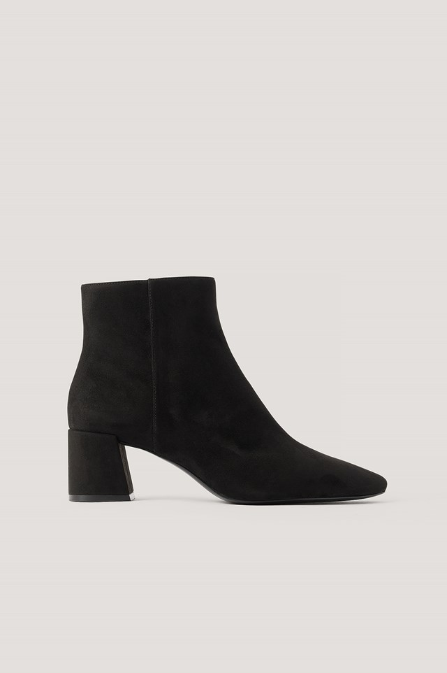 Noona Ankle Boots Black