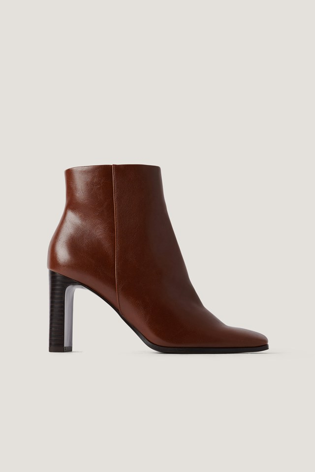 Tierra Ankle Boots Brown