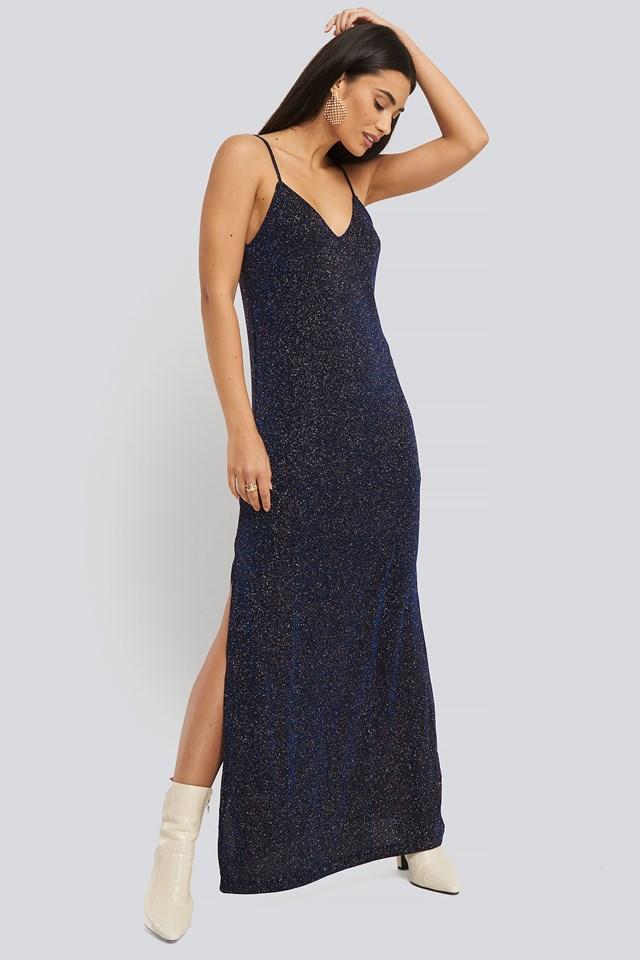 Vestibri Dress Medium Blue