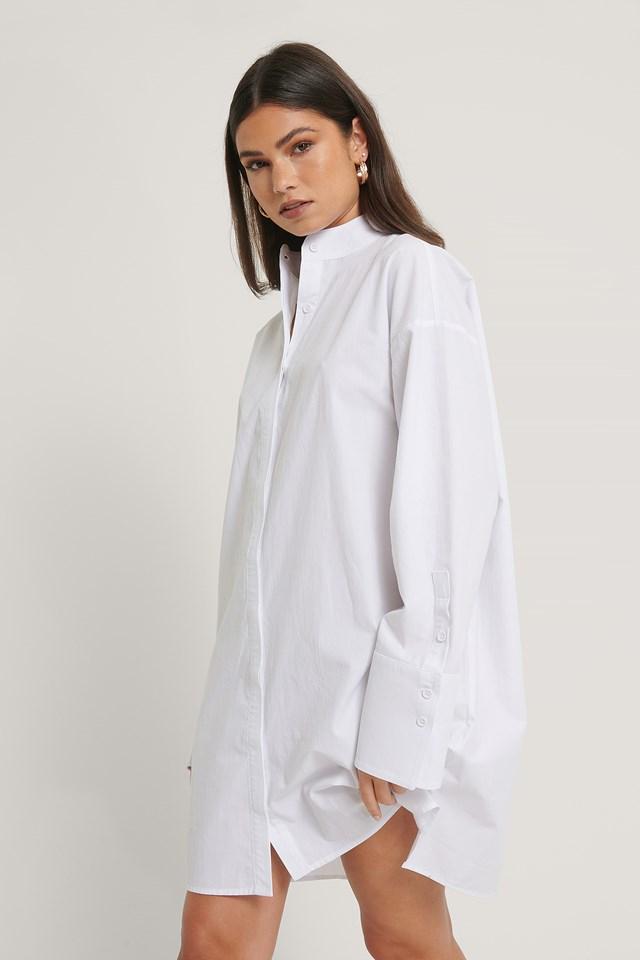 Boxy Dress White