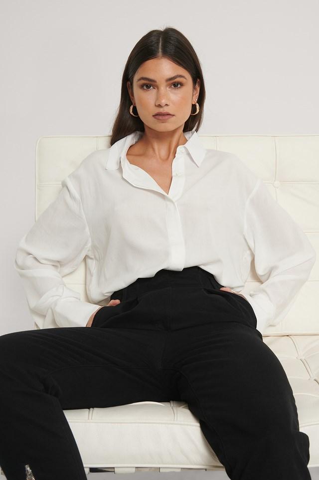 Viscose Shirt White