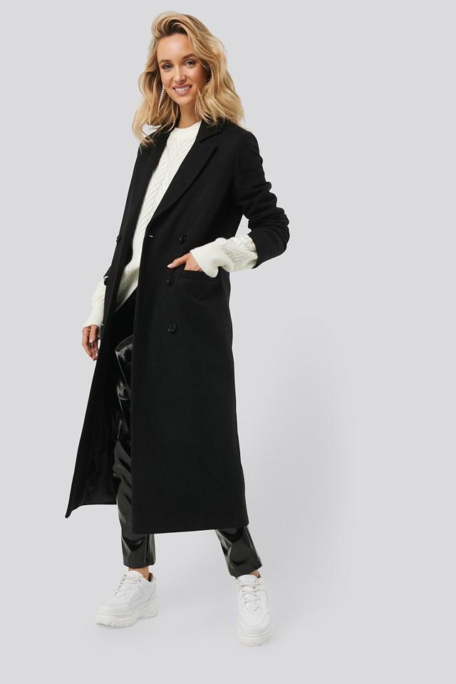 Classic Maxi Coat Black