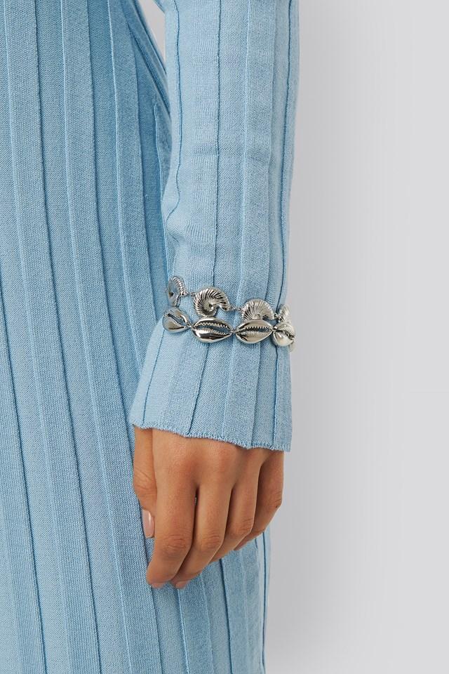 2-pack Shell Bracelet Silver