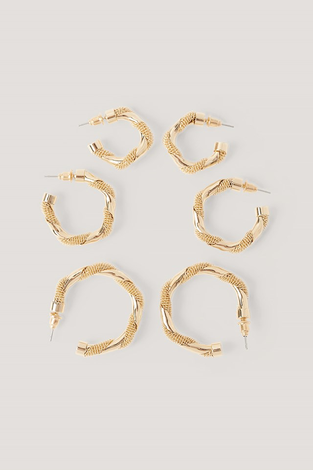 Gold 3-Pack Messy Wavy Hopps