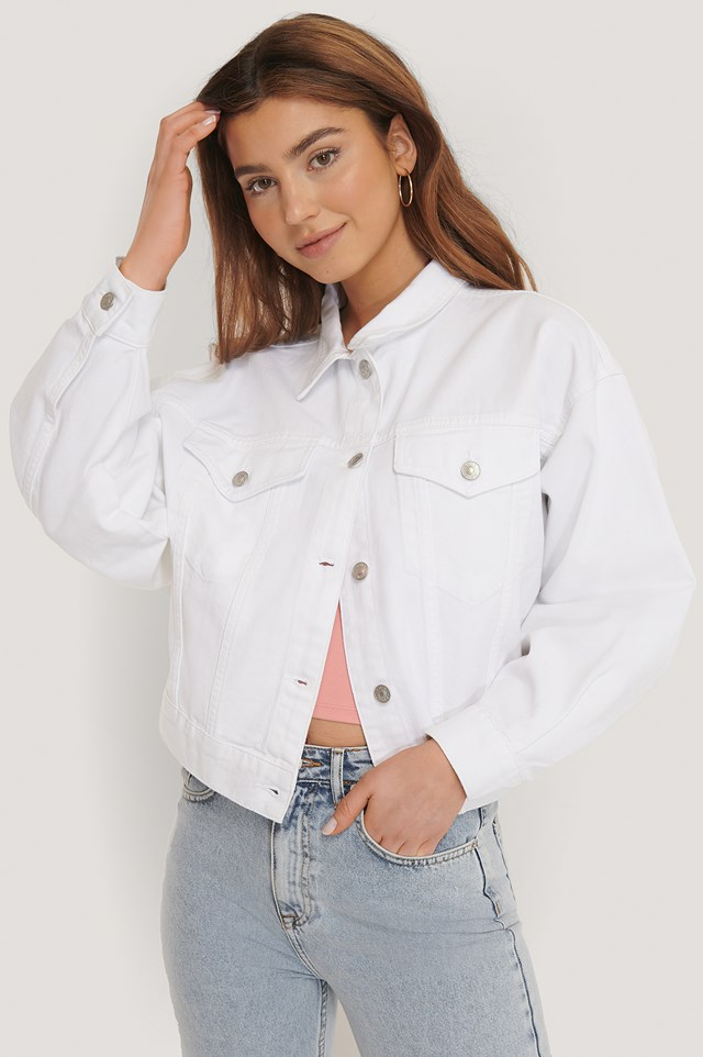 80's Trucker Denim Jacket NA-KD Trend