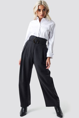 Black Bag Trousers