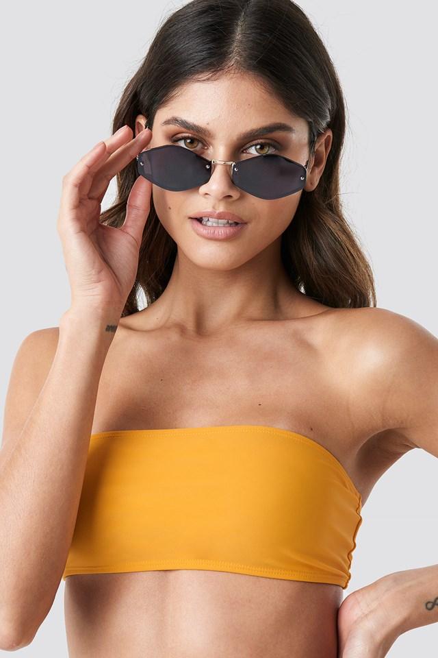 Bandeau Bikini Top Citrus