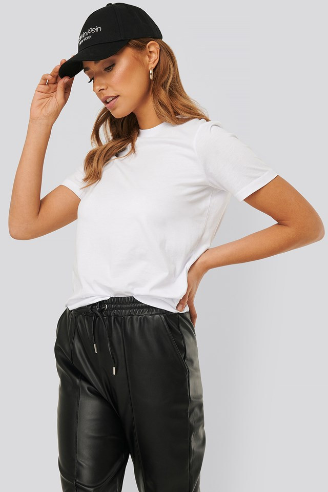Basic Cotton Roundneck T-shirt White