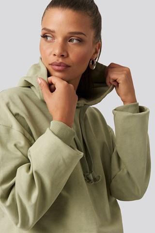 Light Khaki Basic Hoodie