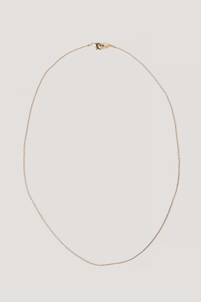 Basic Mask Chain Gold