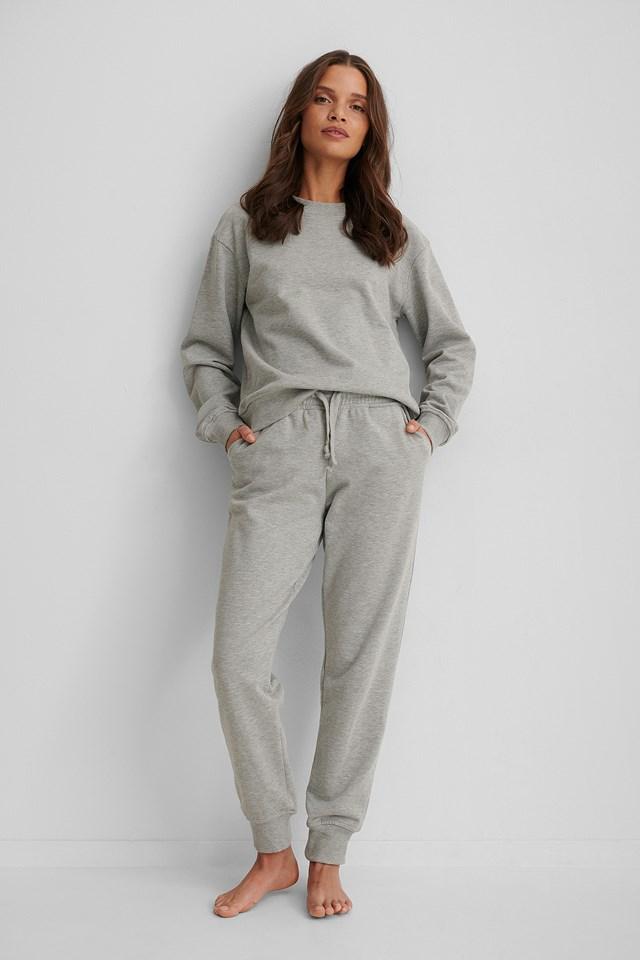 Basic Sweatpants NA-KD Basic